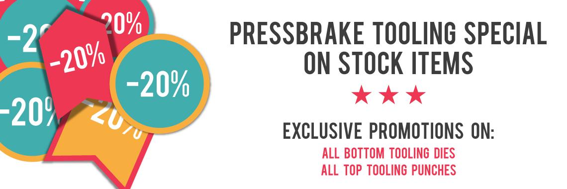 Pressbrake Tooling discount -20%